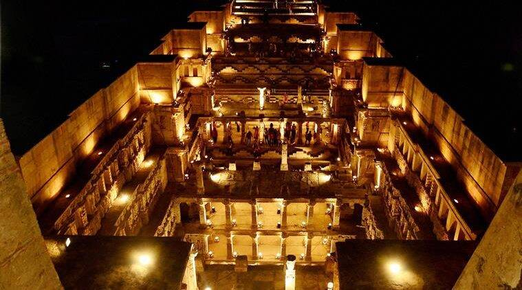 A view of Rani ki Vav on World Heritage Week at Patan, Gujarat on Thursday. (Source: PTI)