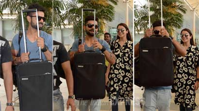 When Anushka Sharma, beau Virat Kohli tried to hide from paparazzi