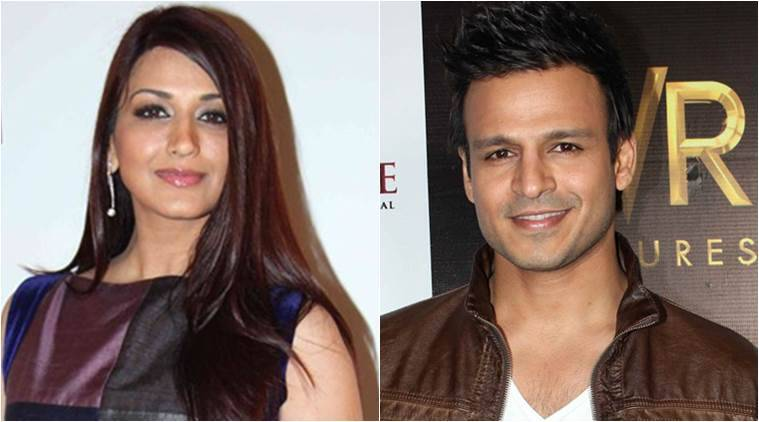 Sonali Bendre,Vivek Oberoi, actress Sonali Bendre, actor Vivek Oberoi, Zee Rishtey Awards 2015, Entertainment News