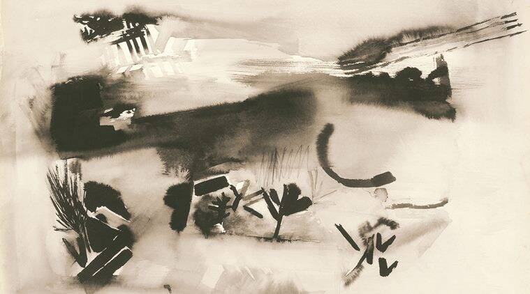 She refused to theorise her work, leaving them open-ended, and, many times, untitled. When her contemporaries such as Tyeb Mehta and MF Husain chose the grandeur of figurative narratives and colour, she honed an exceptional understanding of abstract art. Another untitled work from 1960. (Source: Kiran Nadar Museum of Art)
