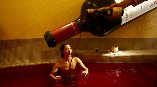Beaujolais Nouveau Day: A wine bath in Tokyo