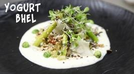 Indian Plates: Gourmet Bhel Salad With Wasabi Yogurt