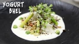 Indian Plates: Gourmet Bhel Salad With WasabiYogurt