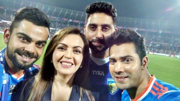 Virat Kohli, Virat Kohli FC Goa, Virat Anushka Sharma, Virat Kohli Anushka Sharma, Virat Anushka love, ISL, Indian Super League, Indian Super League 2015, 2015 Indian Super League, FC Goa ISL, Football News, Football