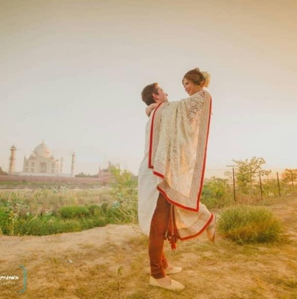 Hong Kong couple flies to India for Taj wedding shoot