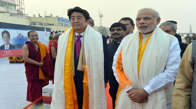 Nuclear deal, N deal, bullet train, india japan ties, modi abe, abe meets modi, modi met abe, abe in varanasi, visa on arrival, India-US Malabar exercises