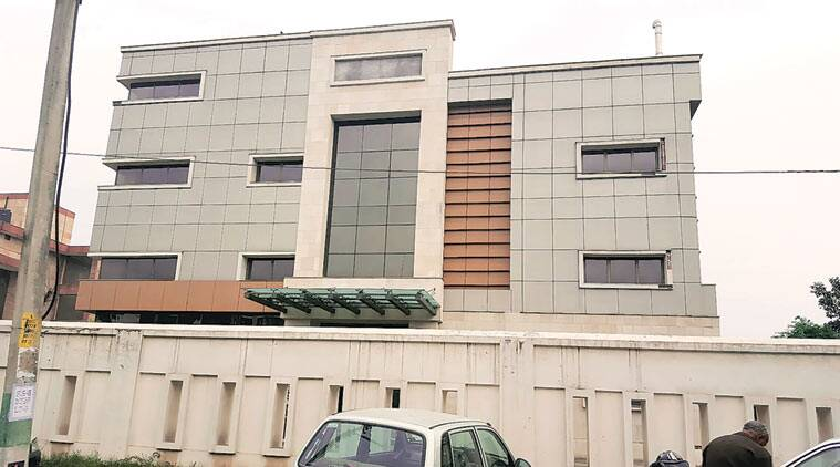The property of Associated Journals Ltd in Panchkula.