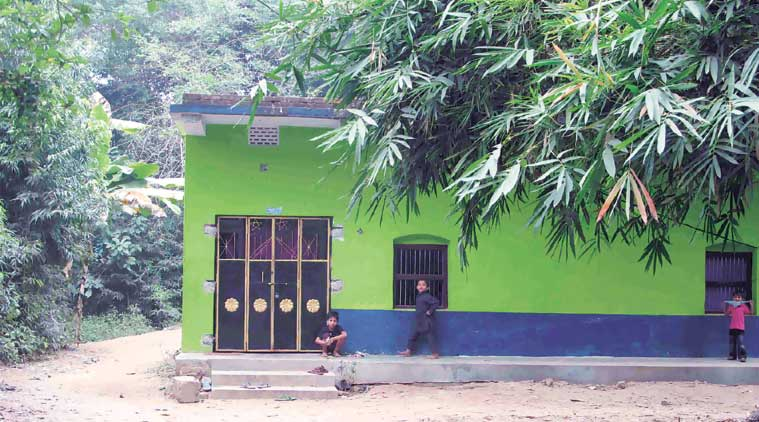 Abdul Rehman's house in Cuttack. (Express Photo by: Debabrata Mohanty)