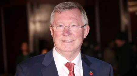Sir Alex Ferguson poses for photographers upon arrival at the world premiere of the film 'Ronaldo, in London, Monday, Nov. 9, 2015. (Photo by Joel Ryan/Invision/AP)