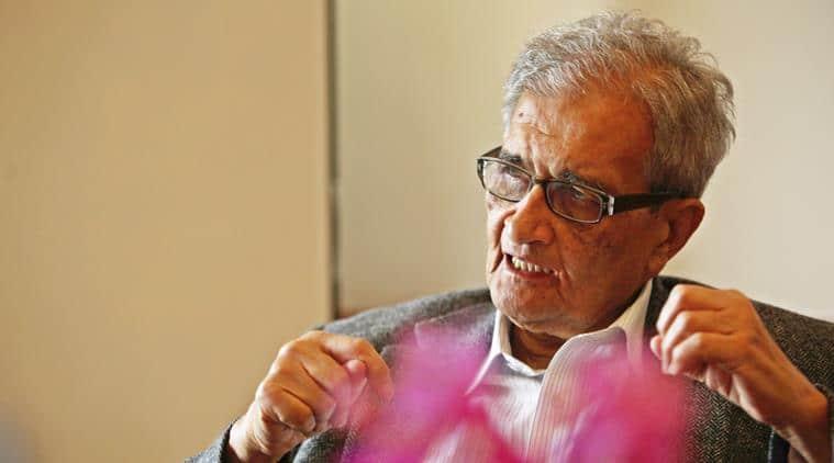 Economist Amartya Kumar Sen. Express Photo by Renuka Puri 29th April 2014.