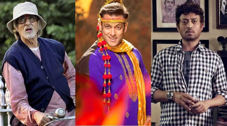 Amitabh Bachchan, Salman Khan, Irrfan Khan, Amitabh Bachchan Piku, Salman Khan Prem ratan Dhan Payo, Salman Khan PRDP, Irrfan Khan Piku, Most Entertaining Actor male, Entertainment news