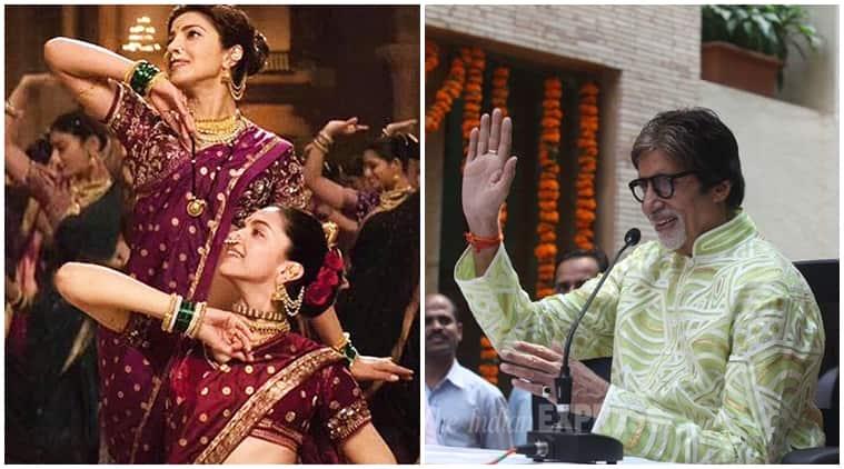 bajirao mastani, sanjay leela bhansali, Amitabh Bachchan, Amitabh Bachchan bajirao mastani, bajirao mastani music, deepika padukone, ranveer singh, priyanka chorpa, entertainment news