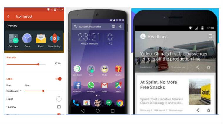 Nova, Hola, APUS: Give your smartphone a makeover with these Android