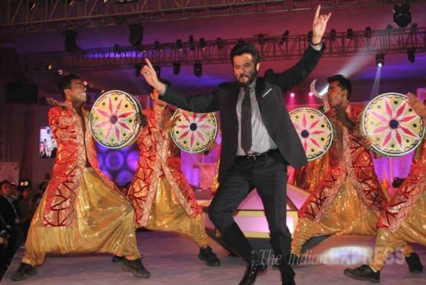 Anil Kapoor, Sunny leone, Raveena Tandon, neelam Kothari, Vidyut Jamval, VJ Andy, bollywood