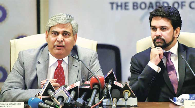 "Speaking at the Express Idea Exchange in Delhi on Thursday, Thakur said that Manohar's comments were made in ""his personal capacity."""
