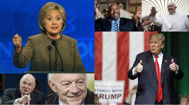 Donald Trump, Pope Francis, Hillary Clinton make it to Yale Book Quotations for 2015