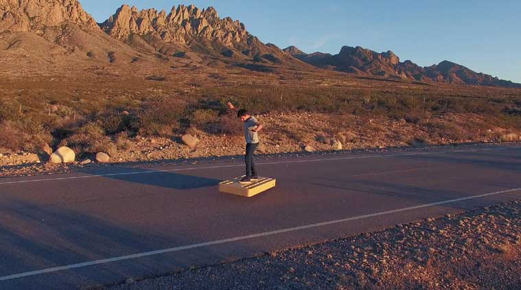 ArcaBoard is a ,900 hoverboard that can take flight for nearly six minutes (Source: ArcaSpace)