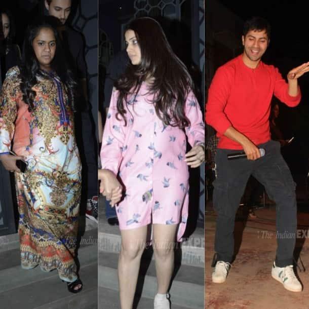 Genelia D'Souza, Arpita Khan, Aayush Sharma, Riteish Deshmukh, Sanjay Kapoor, Maheep Kapoor, Varun Dhawan, Sohail Khan, bollywood, entertainment