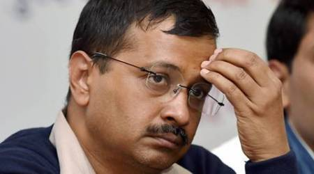AAP hits out at police over ink attack on CM kejriwal