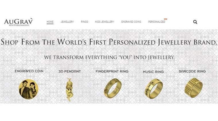 AuGrav, augrav personalised jewellery, augrav 3d jewellery, augrav 3d printed gold jewellery, augrav online order, augrav design, gold jewellery, india news, latest news