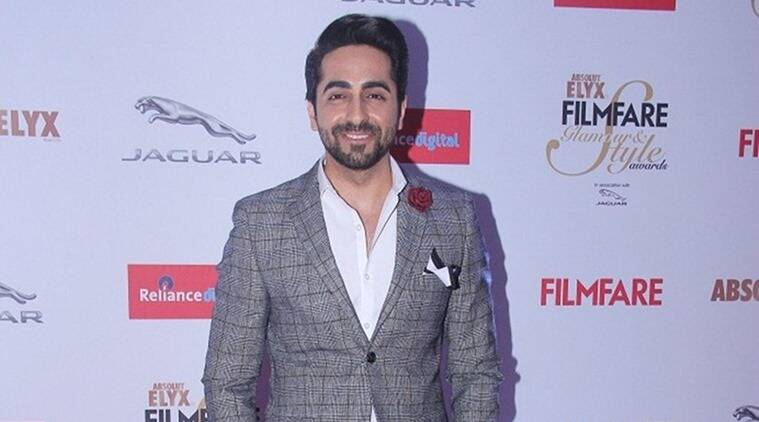 The 32-year old son of father P. Khurrana and mother Poonam Khurrana, 176 cm tall Ayushmann Khurrana in 2017 photo