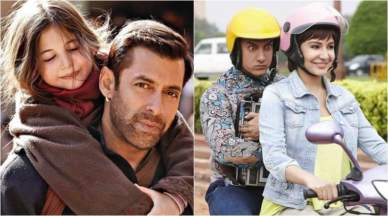 Salman Khan, Bajrangi Bhaijaan, Aamir Khan, PK, SAlman Khan Bajrangi Bhaijaan, Salman Bajrangi Bhaijaan, Aamir Khan PK, Aamir PK, Bajrangi Bhaijaan Most Entertaining Film, Pk Most Entertaining Film, Entertainment news