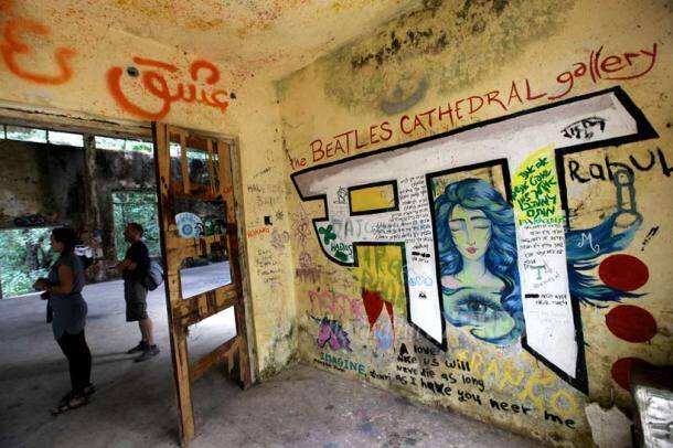 The Beatles, ashram, The Beatles in india, The Beatles ashram, The Beatles in uttrakhand, The Beatles in rishikesh, The Beatles pics, uttrakhan ashram pics