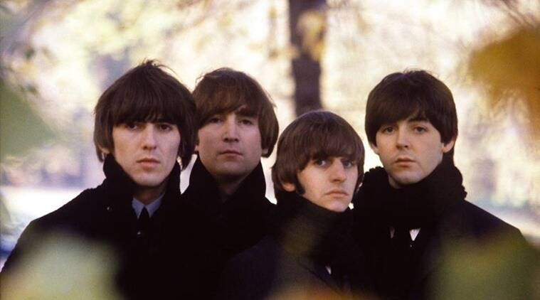 The Beatles at Hyde Park, London. 1964. (Source: Facebook/ The Beatles)