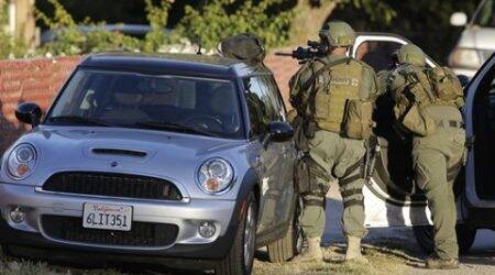 San Bernardino shooting: California county to close most offices for week