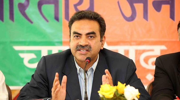 Chandigarh MC polls, Chandigarh MC polls result, Sanjay Tandon, Chandigarh BJP chief Sanjay Tandon, Chandigarh BJP chief, BJP victory, BJP wins MC polls, demonetisation, demonetisation reason for victory, MC polls, Chandigarh, regional news, Indian Express