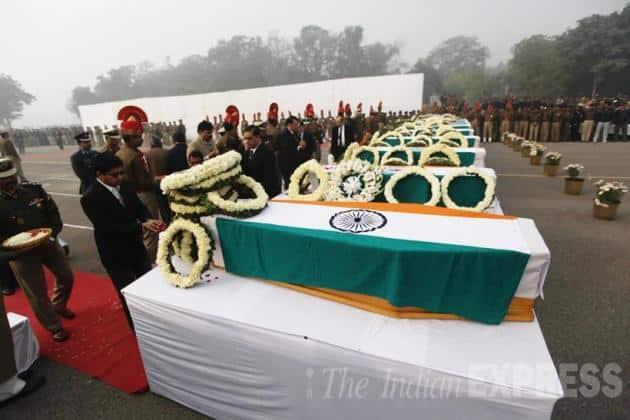 bsf plane crash, dwarka bsf plane crash, bsf plane crash tribute, bsf plane crash rajnath singh, safdarjung airport, delhi news, india news, latest news