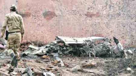 BSF plane crash: On a wing and a prayer