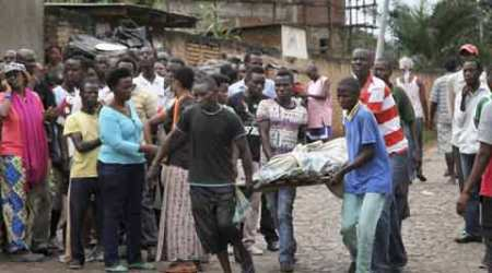 Death toll from day of clashes in Burundi capital rises to87
