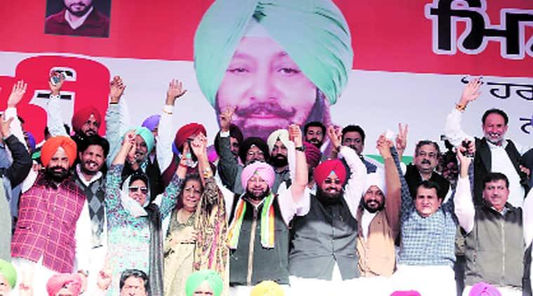 Captain Amarinder Singh, drug mafia, Punjab PCC, Sukhbir Singh Badal, Khadoor Sahib, OROP, punjab news, the indian express