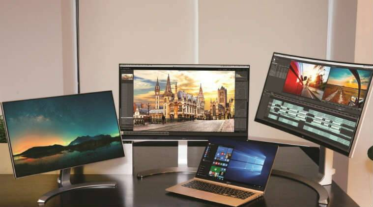 LG will launch three new ultrawide monitors, two new 4K displays and lightweight Gram laptop (Source: LG)