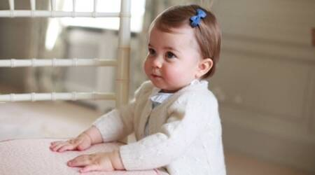 New photos of Princess Charlotte released ahead of first birthday