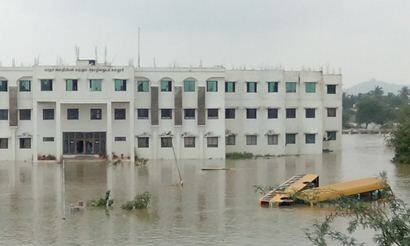 Post-flood, schools, colleges reopen in Tamil Nadu