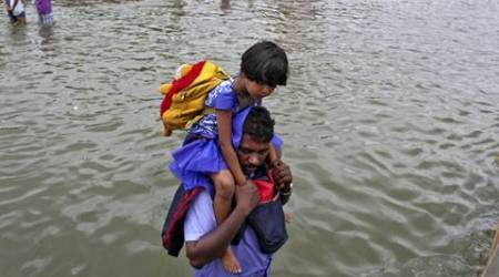 Chennai, floods, india, tamil nadu