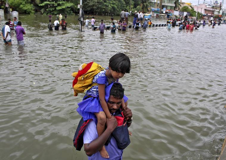 Chennai, floods, india, tamil nadu, rains