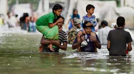 Chennai floods: The burden of bravery