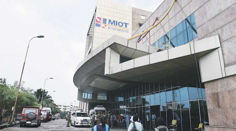 Power, oxygen was hit at Chennai's MIOT hospital. (Source: PTI)
