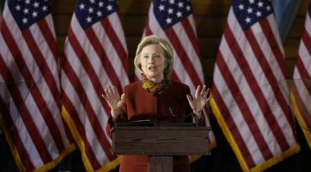 Jerusalem: Hillary Clinton condemns terrorist attack that injured 21 people
