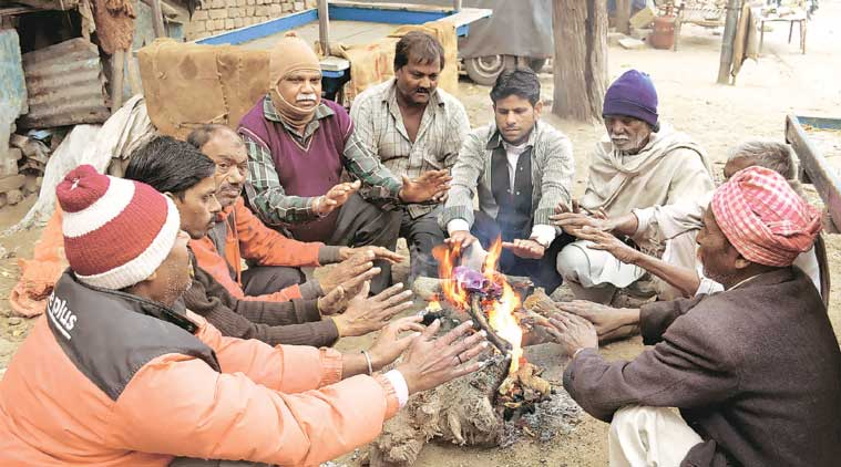 The IMD says people often feel far colder than the actual temperature indicates. (Source: PTI)
