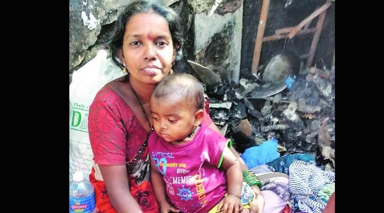 mumbai, mumbai fire, fire in mumbai, kandivali, kandivali east, kandibali east fire, mumbai slums fire, fire in kandivali east, fire in mumbai, mumbai news