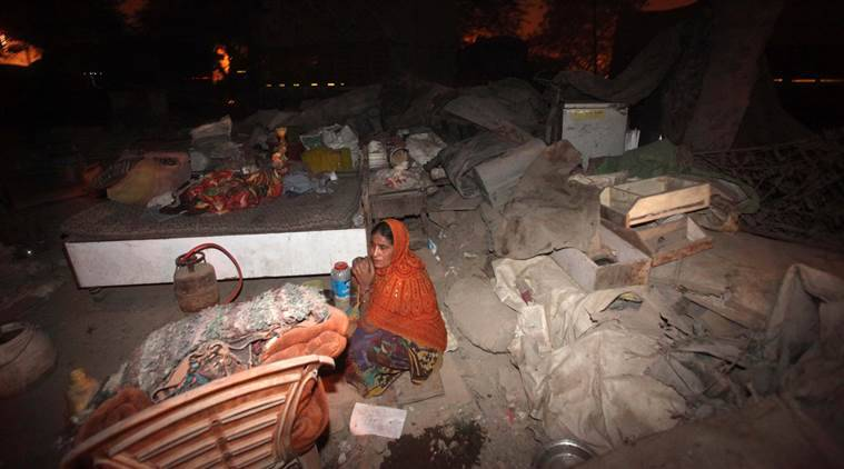 delhi slums, slums redevelopment delhi, delhi news, latest news,indian express