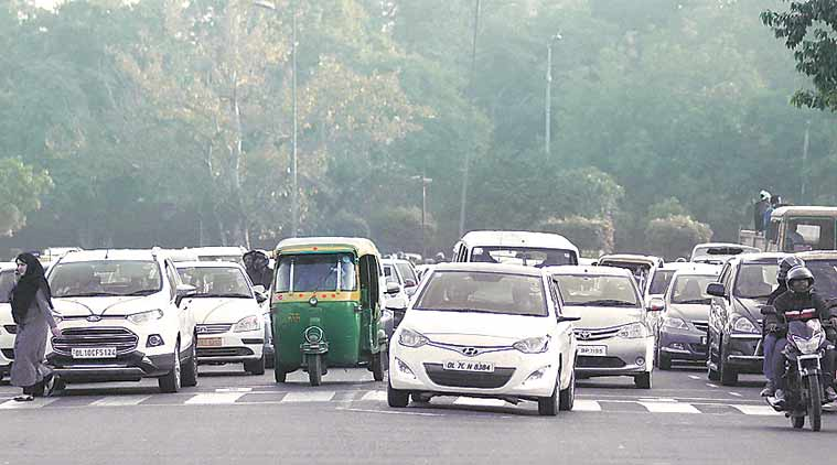 The policy is expected to affect 15 lakh cars on a daily basis. (Express Photo by: Tashi Tobgyal)