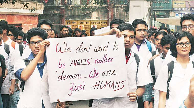 delhi, delhi hospital bandh, medical protests, doctors protests, violence against doctors