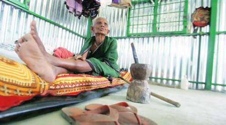 Exchange of enclaves: 95-year-old finally finds a home she can call herown