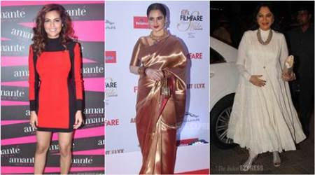 Rekha, Simi Garewal iconic fashion figures: Esha Gupta
