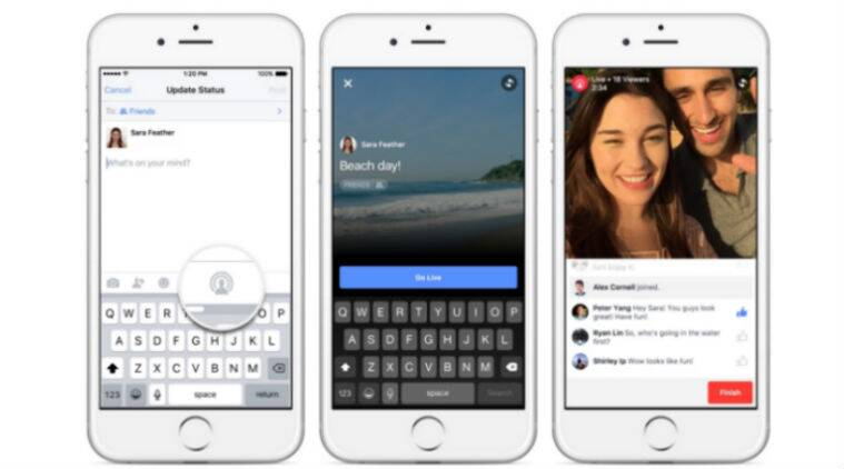 Facebook, Facebook live videos streaming, Facebook live video, Facebook new features, Facebook new video feature, Facebook, technology, technology news